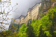 正统希腊的修道院 免版税图库摄影