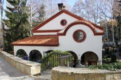 正统教会的修道院 免版税库存图片