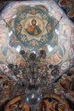 正统教会的圆顶 免版税库存图片