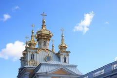 正统教会的圆顶 免版税图库摄影