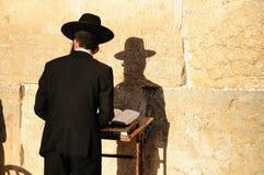 正统犹太人 库存照片