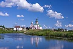 正统的教会 苏兹达尔 库存照片