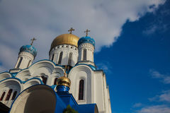 正统的教会 Uzhgorod 库存图片