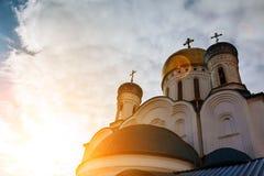 正统的教会 Uzhgorod 图库摄影