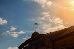 正统的教会 Uzhgorod 免版税库存照片