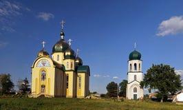正统美丽的教会 库存照片
