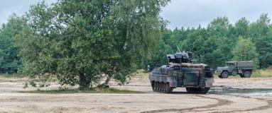 步兵作战车辆 库存图片