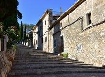 365步在村庄Pollenca 免版税库存图片