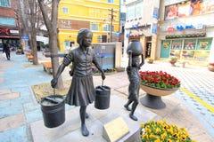 40步文化&旅游业题材街道 库存照片