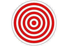 步枪和射箭的传染媒介目标 向量例证