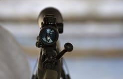 步枪范围 免版税库存图片