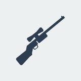 步枪象 也corel凹道例证向量 向量例证