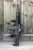 黑步枪 库存图片