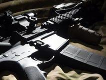 黑步枪 库存照片