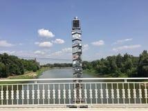 步行桥在奥伦堡 免版税库存照片