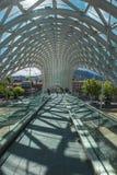 步行桥在第比利斯 免版税库存照片