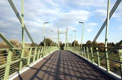 步行桥 免版税库存照片