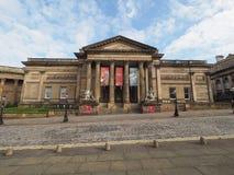 步行者美术画廊在利物浦 库存图片