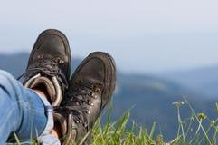 步行靴 图库摄影
