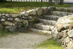 步骤石头 免版税库存图片