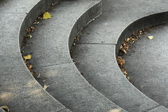 步骤石头 免版税库存照片