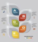5步绘制模板/图表或者网站布局图表 图库摄影