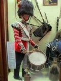 武力和军史的皇家博物馆的鼓手 图库摄影