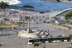 武力在里约热内卢 免版税库存图片