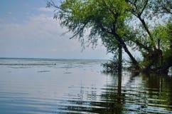 武勒尔湖 免版税库存图片