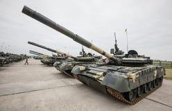 武器装备和乌克兰的武力的军用设备 图库摄影