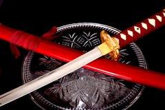武士剑 免版税库存照片