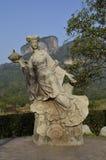 武夷山神仙雕象 免版税库存图片