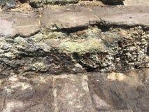 武尔卡诺岛喷气孔 免版税库存照片