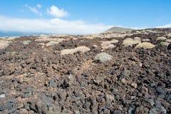 武尔卡诺岛在特内里费岛 库存照片
