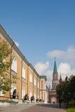 武库在克里姆林宫。俄罗斯 库存图片