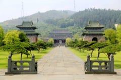 武当山,一个著名道士圣地在中国 库存照片