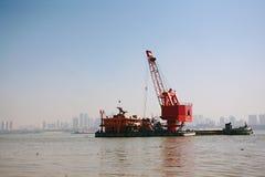 武汉武昌海滩 图库摄影