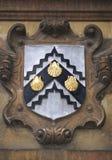 武装剑桥外套大学 免版税图库摄影