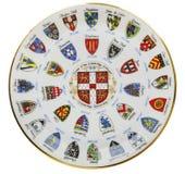 武装剑桥的纹章 库存图片