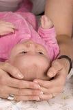 武装婴孩 库存图片