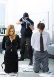 武装攻击 免版税图库摄影