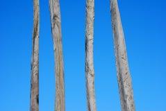 武装木头 库存图片