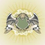 武装狮子 免版税库存图片