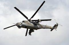 武装的武装直升机 免版税库存照片