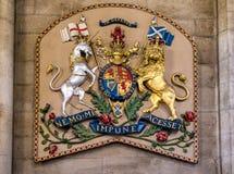 武装皇家苏格兰 免版税库存照片