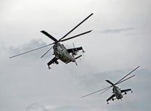 武装直升机 图库摄影