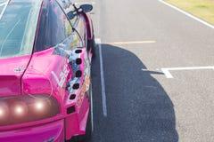 武里喃府,泰国- 2016年12月30日:赛跑在轨道的张国际电路武里喃府泰国赛车 免版税库存图片