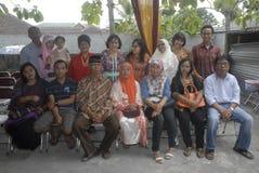 歧视印度尼西亚事例  免版税库存图片