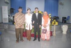 歧视印度尼西亚事例  库存图片