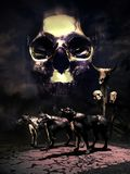 死亡和黑暗 皇族释放例证